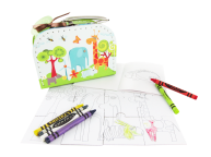 Puzzle Drawing Sewing Kit--Forest