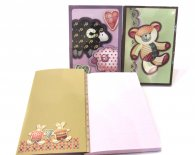 Animal Notebook with Pocket