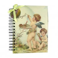 Angle Large O-Wire Binding Notebook with Divider
