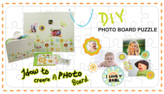 DIY Photo Board Puzzle