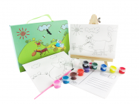 Canvas Postcard Box Set--Farm