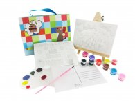 Canvas Postcard Box Set--birthday cake