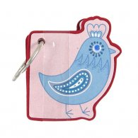 Chicken Key Ring Memo Pad