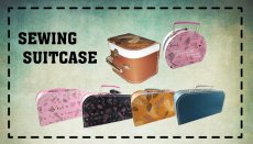 Sewing Suitcase / Lunch Box