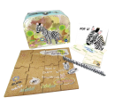 Sewing Box With Magnetic Puzzle Board Set